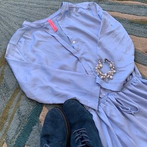 Baby Blue Light Dress - Francesca's Collections
